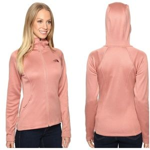 The North Face Agave Fleece Lined Full Zip Hoodie
